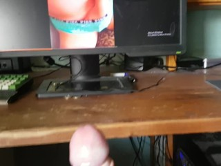 huge cumshot for you girls