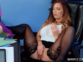 Pokies Teen She s Underpaid but she s gonna get a dick bonus - Brazzers