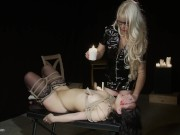 Lesbian Strap-on BDSM Sex - The Submission of Violet