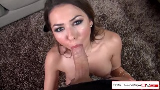 Melissa over a load face a super her cock moore big and all takes big pornstar