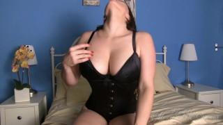 Black Satin JOI porno