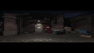 Jessica Rabbit getting fucked in the alley outside her club