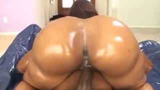 Cherokee D ASS - OIled Big Ass Pounding