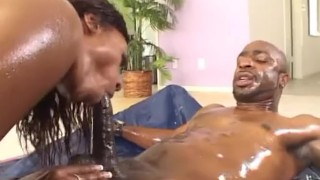 Cherokee D ASS - OIled Big Ass Pounding