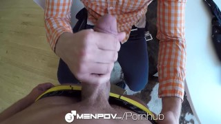 MenPOV Test studying turns into fuck fest with Joel Mason and Adam Herst