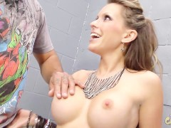 Nasty Little Slut Takes Huge Dick and Gets Mouth Full Of CUM