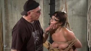 Nyssa Nevers Extreme BDSM Punishement - The Bamboo Prison porno