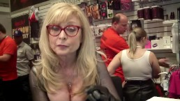 Nina Hartley w/ Tone Cruz AEE 2017