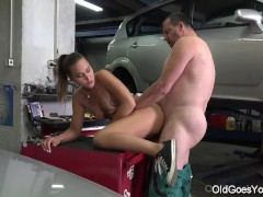 Old Goes Young - Car mechanic proves he is talented at many things