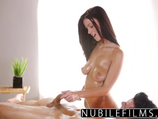 NubileFilms - Big Tit Teen Whitney Westgate Riding Cock S12:E28