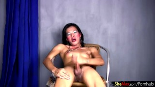 Filipino stroking thick dick toying femboy of ass video full feminine ladyboy