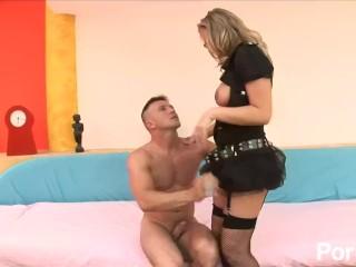 Rock Lee Video Fucking, High Heels and Glasses 3- Scene 4 Big Tits Blonde Hardcore MILF Pornstar ana