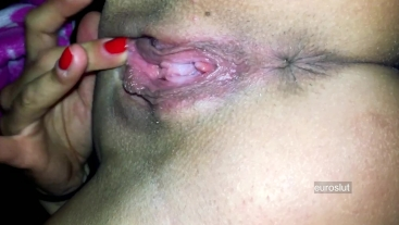 Intense Throbbing Asshole Contractions Grool Drip Orgasm Masturbation Bitch