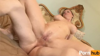 horny scene and over hand step
