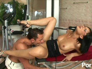 Forced muscle worship sexual rehab - scene 1 mom mother brunette glasses busty pussy eating c