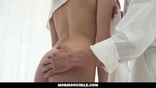 MormonGirlz-Young Blonde Babe Rides A Big Dick