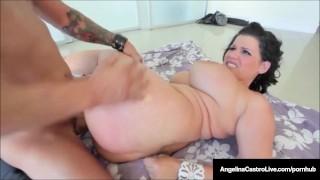 古巴的#1出口安吉丽娜卡斯特罗喜欢她的巨大乳房暨!