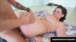 Cuba's #1 Export Angelina Castro Loves Cum On Her Huge Tits!