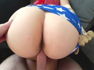 amateur. exclusive. cum leaking out of the hole. woman with fat butt.  @Booty_Ass