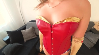 Wonder Woman with big ass fucked porno