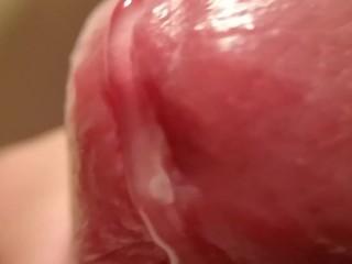Extreme Up Close Cumshot