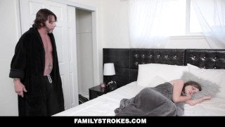 FamilyStrokes - Sneaky Sex With My Step-Daddy