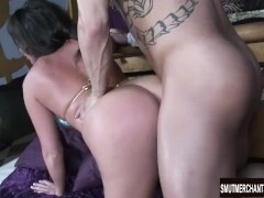 Hot Blooded MILF Blows and Fucks a Big Dick
