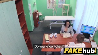 Stretches fake doctors pussy lips portuguese thick hospital dick hot boobs big