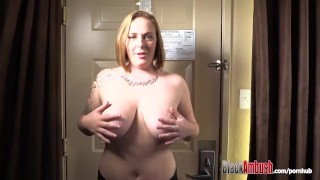 Redhead black cock yuliana surprised big big tits by blackambush tits