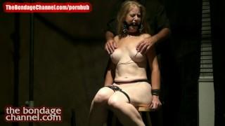 Orgasm redhead milf torture thebondagechannel bondage