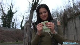 Public Agent Outdoor orgasms for Serbian beauty