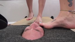 Facebox Foot gagging 2 Brattyfootgirls.com