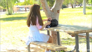 Kelly FTV - Breaking Innocence Public Park