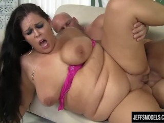 Big Boobed BBW Is Fucked Good and Hard