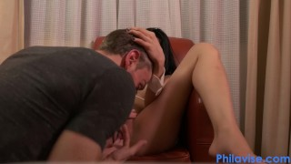 Fingering my sexy asian friend Heather Vahn  big tits babe fingered asian hot small tits skinny young brunette petite feet fingering fastfingering heather vahn philavise chair fingerfucked