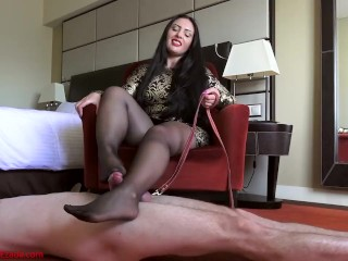 Owned and milked by My nylon clad feet