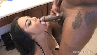 ROME Big Tit Milf Brianna Bentley slammed by BBC  bb big cock raven romemajorxxx cim mom thick cumshot curvy rough drilled mother doggystyle big boobs bathroom sex hard fast fuck