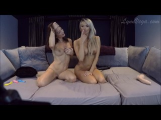 Lynn Vega and Brooke Paige play for camshow