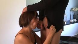 Sexy babe gets a DP