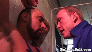 Muscle hunk throats bottom before rough fuck Bbc polish
