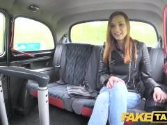 Fake Taxi Slim redhead likes rough sex