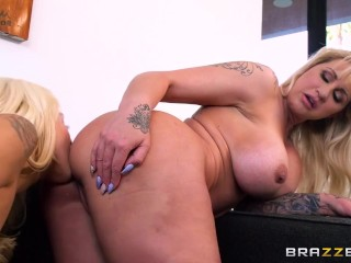 Teaching Her Husband's Mistress How To Fuck - Brazzers