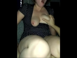 Hot wife has anal orgasm after butt plug play