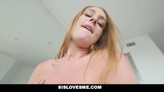 SisLovesMe - Horny Sis Has A Fat Ass redhead step bro cream pie point of view blonde big ass daisy stone step sister sislovesme small tits pov step brother family butt step siblings booty