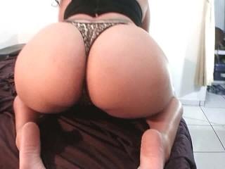 Chubby Latina Pussy on Big Booty