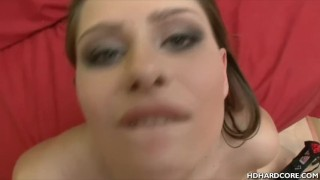 Diana backdoor fucked facialed ass european
