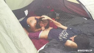 Fucking tent friends in camping hard caught off friends