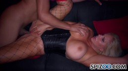 Beautiful Karen Fisher nice great huge tits, perfect round ass gets fucked