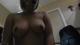 Bro Catches Slutty StepSis Masturbating, Gets What He Needs! fuck suck cum Masseur tits