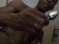 Straight guy Rv anal plug exploration
